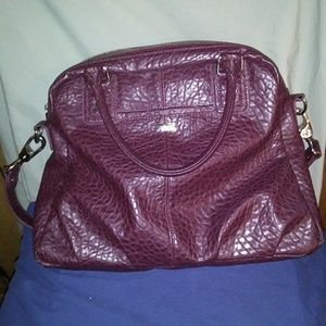 Jewell by Thirty One Couture Street Handbag. PLUM.